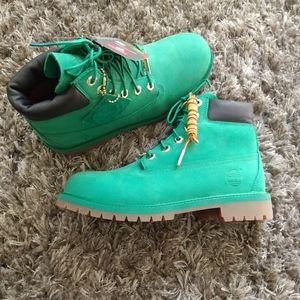 Timberland # TB0 A1IQB WinterGreen LE boots